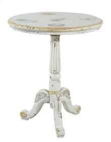 Sandtiques Pedestal End Table