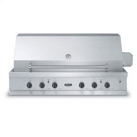 """Stainless Steel 53"""" Ultra-Premium E-Series Grill with TruSear - VGIQ (53"""" wide with three standard 29,000 BTU stainless steel burners, one 30,000 BTU TruSear infrared burner (Natural Gas))"""
