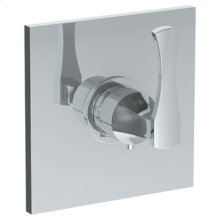 Wall Mounted Thermostatic Shower Trim, 6 1/4""