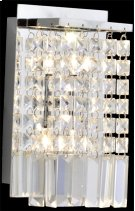 Wall Lamp, Chrome/crystals, Type Jc/g4 20wx2 Product Image