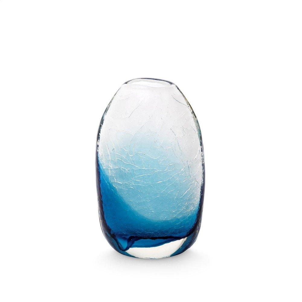 Adela Small Vase, Midnight Blue