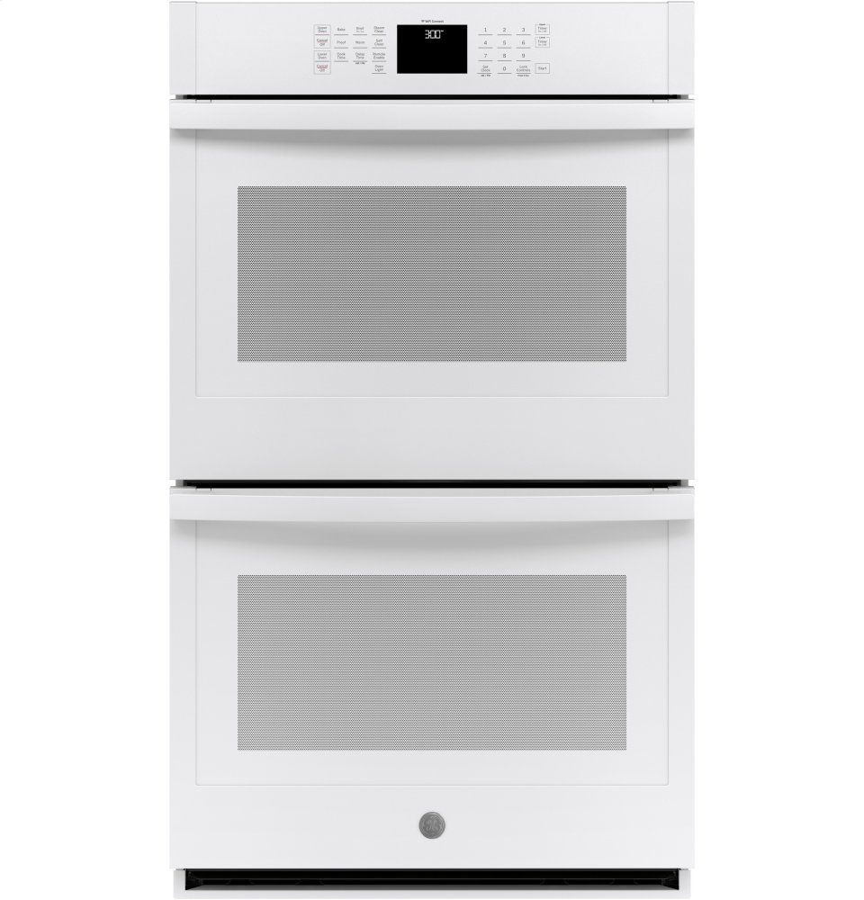 """GE(R) 30"""" Built-In Double Wall Oven  WHITE"""