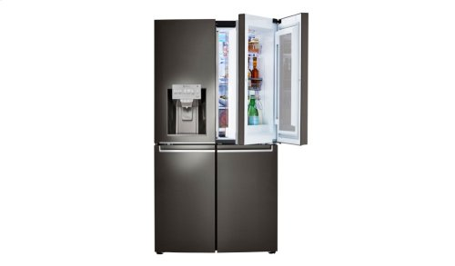 Coming Soon: LG InstaView ThinQ Black Stainless Steel Refrigerator