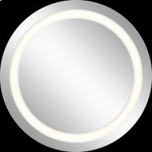 LED Mirror - Model 83996 Mirror with 3-Inch Etched Glass Window