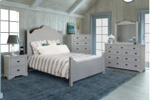 Bedroom HH-4270 Collection - 5 Piece Queen Bedroom Set - Sunset Trading