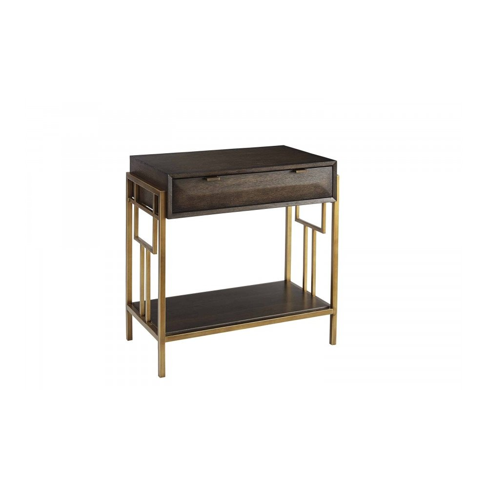 WoodWright Lloyd Brown Ennis Nightstand