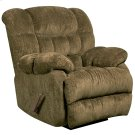 Contemporary Columbia Mushroom Microfiber Rocker Recliner with Thick Tufted Back Product Image