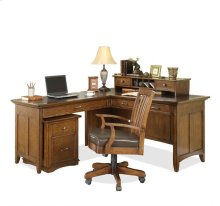 Oakton Village File Cabinet Artisan Distressed Oak finish