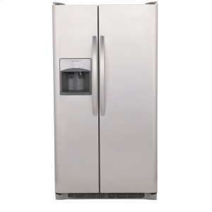 25.5 Cu. Ft. Side-by-Side Refrigerator - STAINLESS STEEL