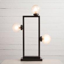 Antiqued Iron Finish Clara Table Lamp