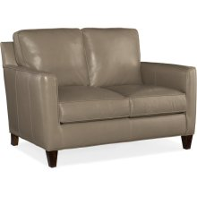 Bradington Young Yorba Stationary Loveseat 8-Way Tie 508-75