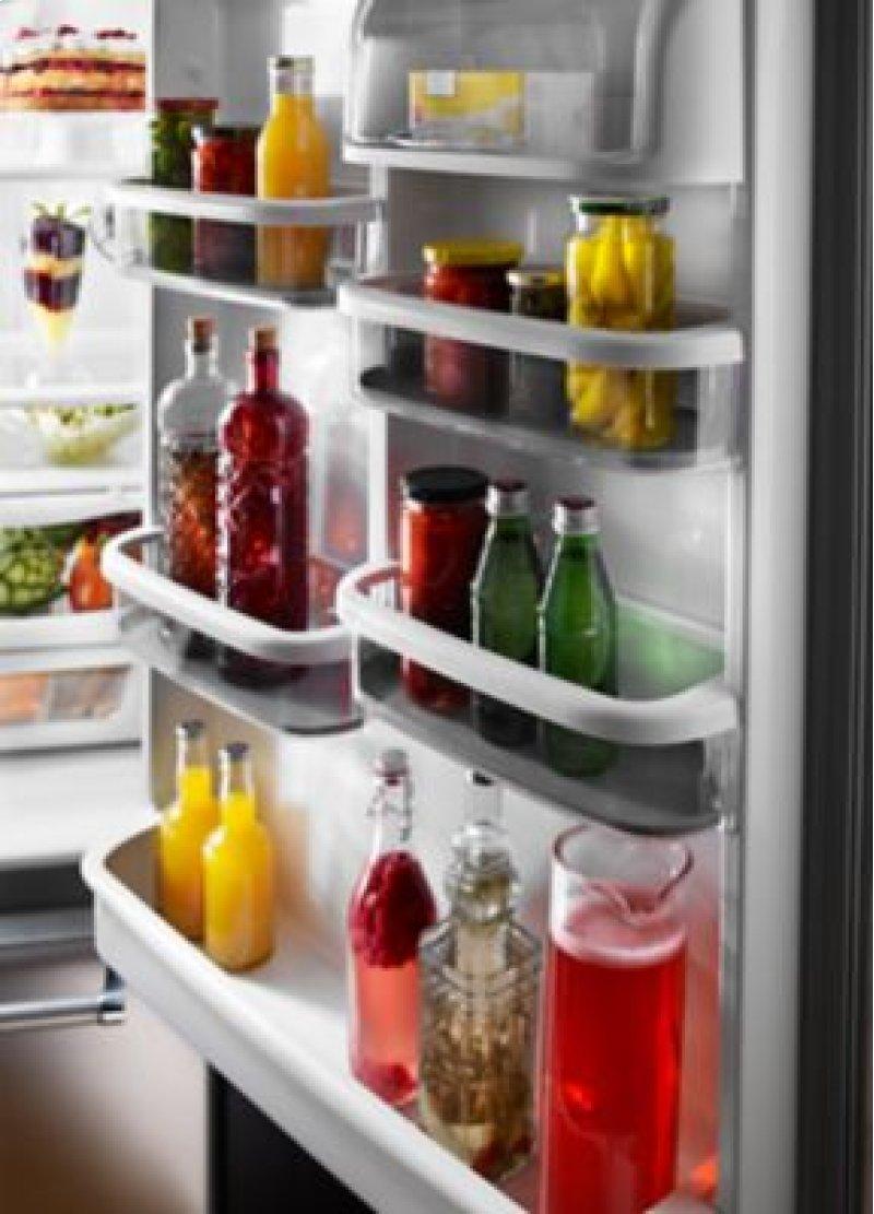 33 inch width full depth non dispense bottom mount refrigerator - Non Stainless Steel Appliances