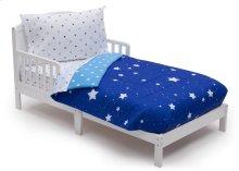 Blue Starry Night 4-Piece Toddler Bedding Set - Blue Starry Night (2205)