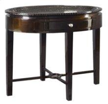 Crocodile Oval Lamp Table