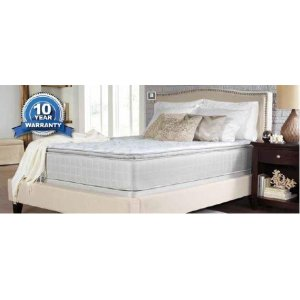 CoasterMarbella II Pillow Top White Eastern King Mattress