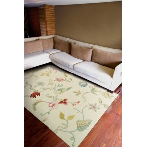 Fantasy Fa15 Vanilla Rectangle Rug 1'9'' X 2'9''