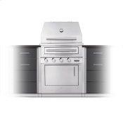 K500 Built-in Hybrid Fire Grill