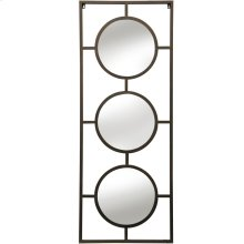 Brass Metal Wall Mirror  25in X 66in