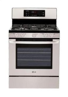 5.4 cu. ft. Capacity Gas Single Oven Range with Oval Burner and Griddle