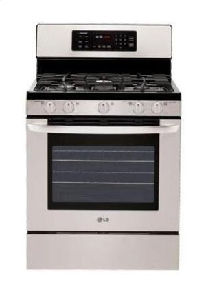 5.4 cu. ft. Capacity Gas Single Oven Range with Oval Burner and Griddle Product Image