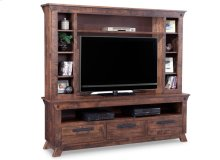 Algoma HDTV Unit with Hutch with 54'' TV Opening