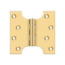"4"" x 4"" Hinge - PVD Polished Brass"