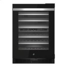 """NOIR 24"""" Built-In Undercounter Wine Cellar - RIght Swing Product Image"""