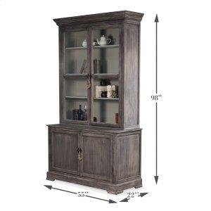 Sarreid Ltd 19th Century Bookcase