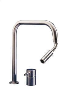 2 Hole Kitchen Mixer With Pull-out Spout
