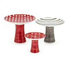 TY Berry Patch Hand-painted Cake Stands - Set of 3