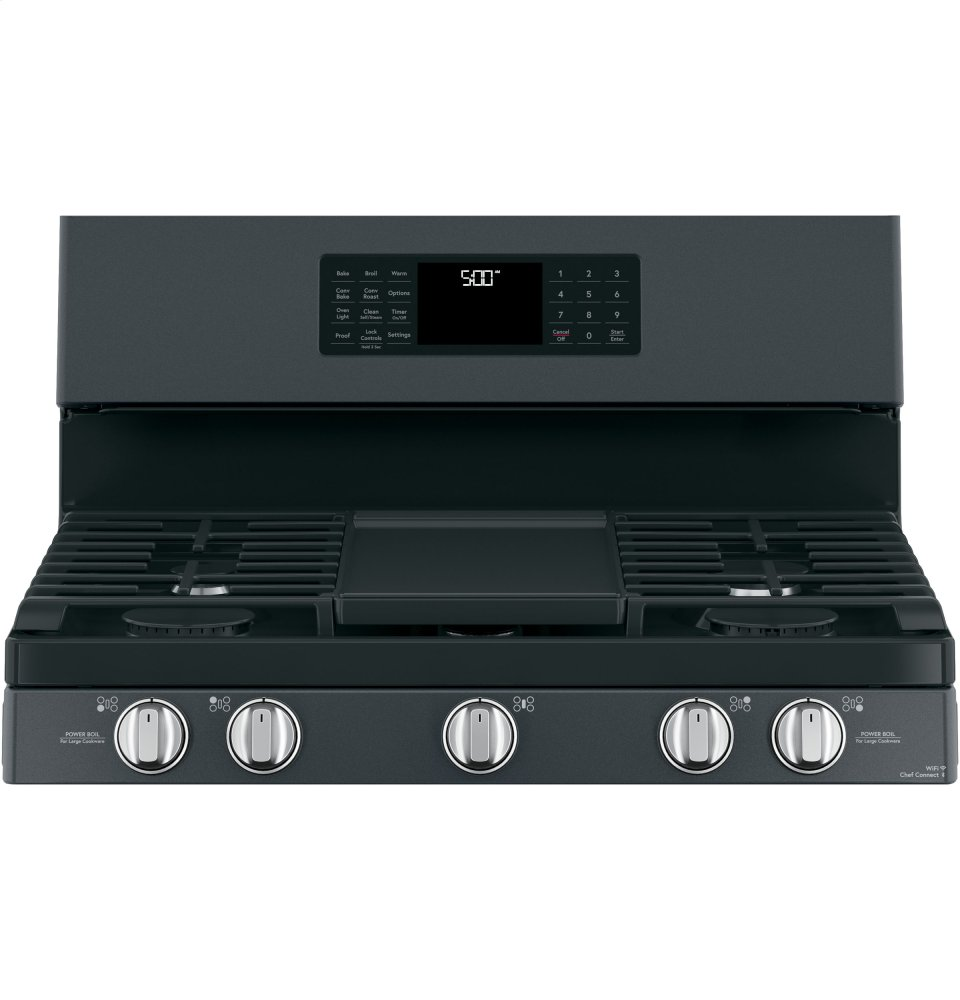 "Caf(eback) 30"" Free-Standing Gas Oven with Convection Range Photo #2"