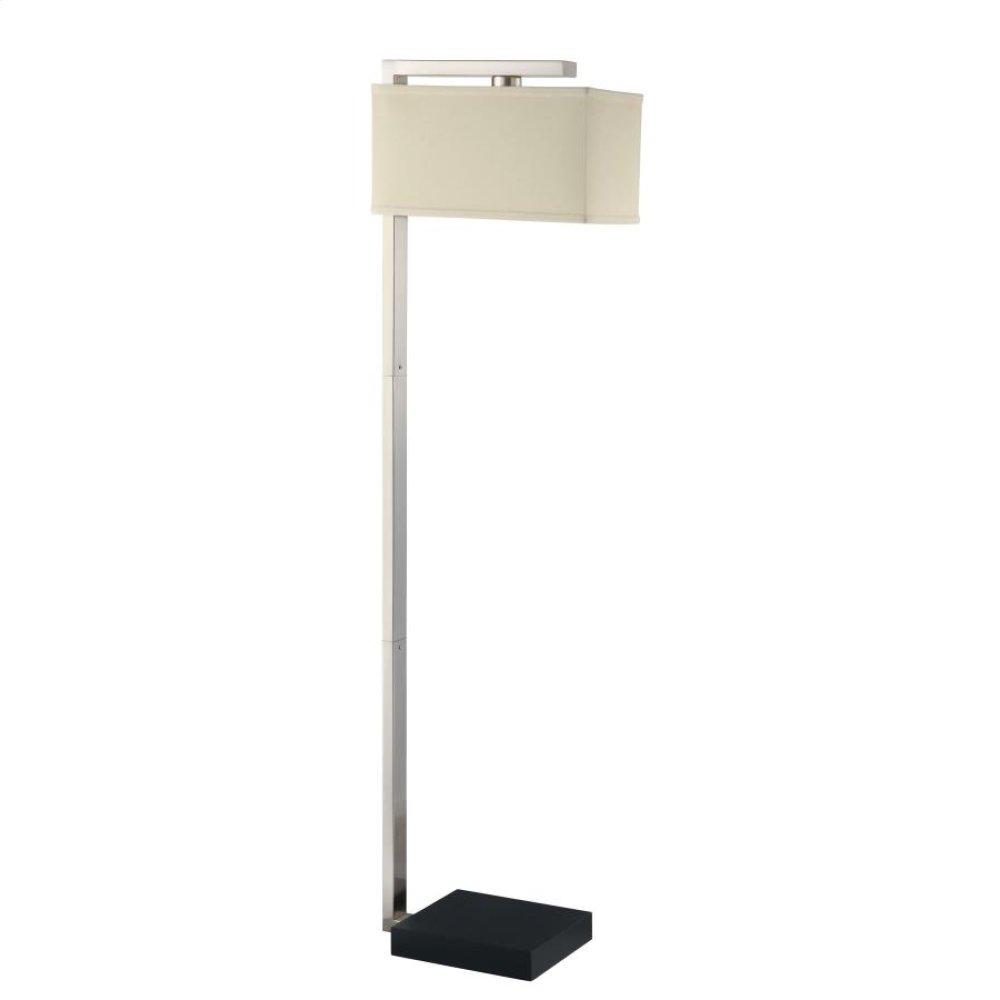 Contemporary Silver Lamp