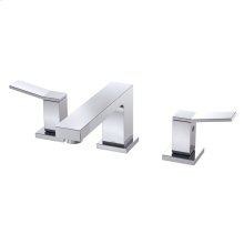 Chrome COMING SUMMER 2019 - Avian Two Handle Widespread Lavatory Faucet