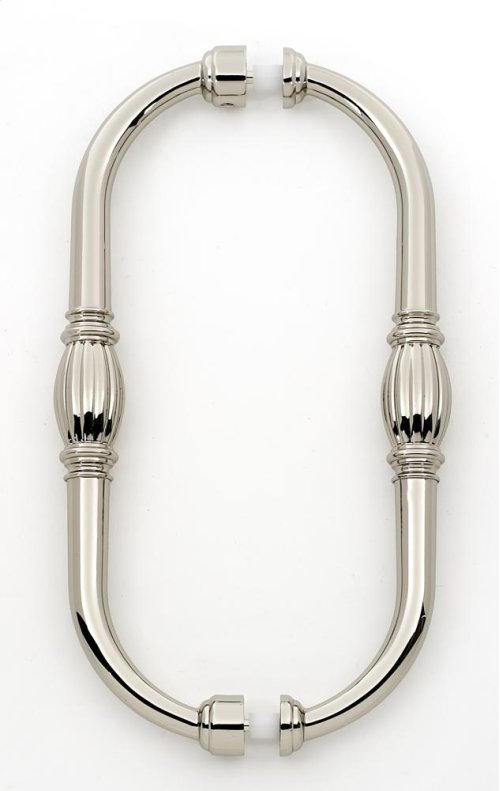 Tuscany Back-to-Back Pull G234-8 - Polished Nickel