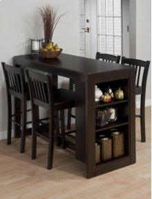 Storage Table & 4 Chairs