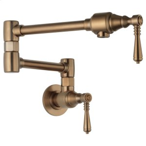 Traditional Wall Mount Pot Filler Faucet Product Image