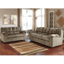 Signature Design by Ashley Julson Living Room Set in Dune Fabric