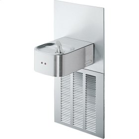 Elkay Soft Sides Fountain ADA Hands-Free Non-Filtered, 8 GPH Stainless