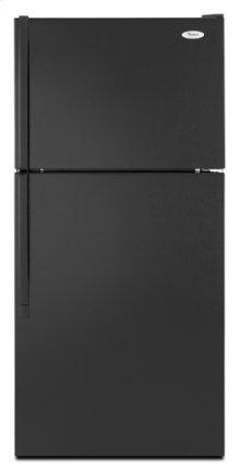 Black Whirlpool® 18 cu. ft. Top Mount Refrigerator