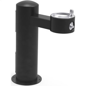 Elkay Outdoor Fountain Pedestal Non-Filtered, Non-Refrigerated Freeze Resistant Black
