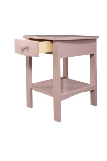 1 Drawer Nightstand-pink