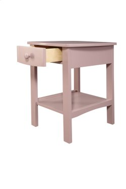 1 Drawer Nightstand-pink Product Image
