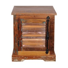 Reclaimed Wood Accent Chest