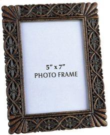 """Photo Frame - Dark Bronze, 9.5""""HX7.5""""W"""