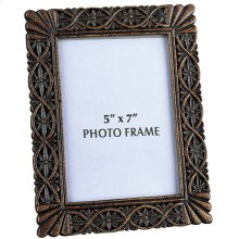 "Photo Frame - Dark Bronze, 9.5""HX7.5""W"