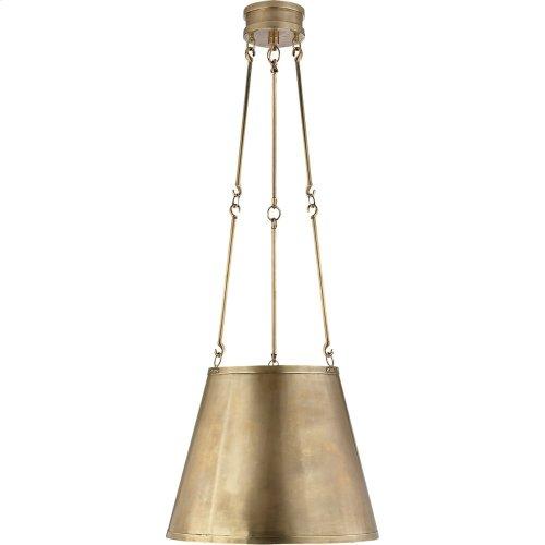 Visual Comfort AH5210NB Alexa Hampton Lily 3 Light 15 inch Natural Brass Hanging Shade Ceiling Light