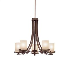 Hendrik Collection Hendrik 5 Light Chandelier - Olde Bronze
