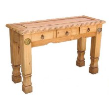 Rope Sofa Table With Stars