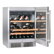 "24"" Under-worktop wine storage cabinet"