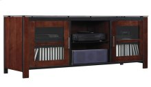 This audio/video cabinet combines real wood with a multi-step process Cocoa...